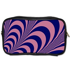 Fractals Vector Background Toiletries Bags by Nexatart