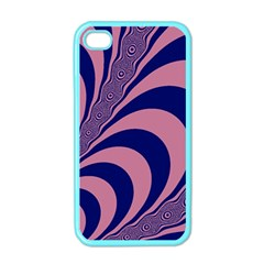 Fractals Vector Background Apple Iphone 4 Case (color) by Nexatart