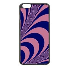 Fractals Vector Background Apple Iphone 6 Plus/6s Plus Black Enamel Case