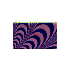 Fractals Vector Background Cosmetic Bag (xs) by Nexatart
