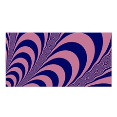 Fractals Vector Background Satin Shawl