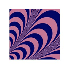 Fractals Vector Background Small Satin Scarf (square)