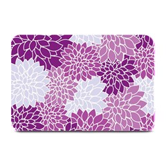 Floral Wallpaper Flowers Dahlia Plate Mats by Nexatart