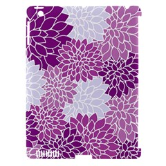 Floral Wallpaper Flowers Dahlia Apple Ipad 3/4 Hardshell Case (compatible With Smart Cover)