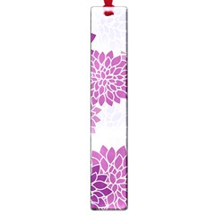 Floral Wallpaper Flowers Dahlia Large Book Marks by Nexatart