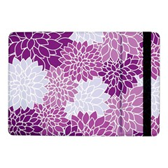 Floral Wallpaper Flowers Dahlia Samsung Galaxy Tab Pro 10 1  Flip Case
