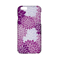 Floral Wallpaper Flowers Dahlia Apple Iphone 6/6s Hardshell Case by Nexatart