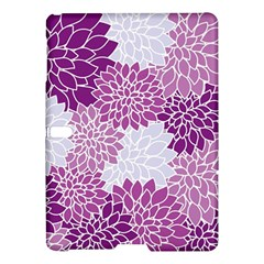 Floral Wallpaper Flowers Dahlia Samsung Galaxy Tab S (10 5 ) Hardshell Case  by Nexatart