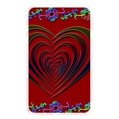 Red Heart Colorful Love Shape Memory Card Reader by Nexatart