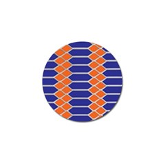Pattern Design Modern Backdrop Golf Ball Marker (4 Pack)