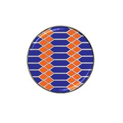 Pattern Design Modern Backdrop Hat Clip Ball Marker (4 Pack) by Nexatart