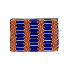 Pattern Design Modern Backdrop Cosmetic Bag (medium)  by Nexatart