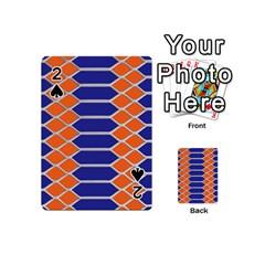 Pattern Design Modern Backdrop Playing Cards 54 (mini)