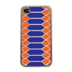 Pattern Design Modern Backdrop Apple Iphone 4 Case (clear)