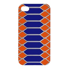 Pattern Design Modern Backdrop Apple Iphone 4/4s Hardshell Case by Nexatart