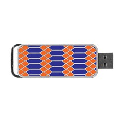 Pattern Design Modern Backdrop Portable Usb Flash (two Sides) by Nexatart