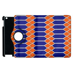 Pattern Design Modern Backdrop Apple Ipad 2 Flip 360 Case by Nexatart