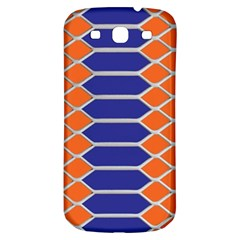 Pattern Design Modern Backdrop Samsung Galaxy S3 S Iii Classic Hardshell Back Case by Nexatart
