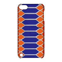 Pattern Design Modern Backdrop Apple Ipod Touch 5 Hardshell Case With Stand by Nexatart