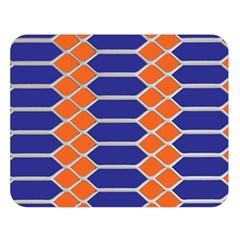 Pattern Design Modern Backdrop Double Sided Flano Blanket (large)  by Nexatart