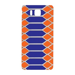 Pattern Design Modern Backdrop Samsung Galaxy Alpha Hardshell Back Case by Nexatart
