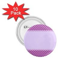 Purple Modern 1 75  Buttons (10 Pack)