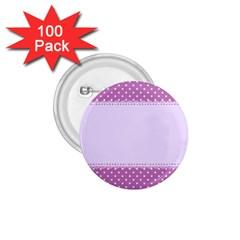 Purple Modern 1 75  Buttons (100 Pack)  by Nexatart