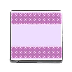 Purple Modern Memory Card Reader (square)