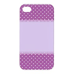 Purple Modern Apple Iphone 4/4s Hardshell Case