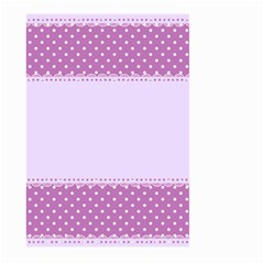 Purple Modern Large Garden Flag (two Sides) by Nexatart