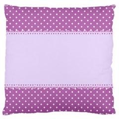 Purple Modern Large Cushion Case (two Sides) by Nexatart