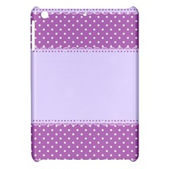 Purple Modern Apple Ipad Mini Hardshell Case by Nexatart