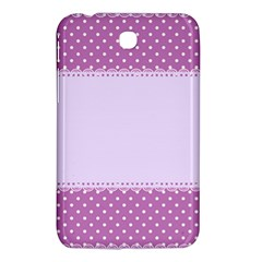 Purple Modern Samsung Galaxy Tab 3 (7 ) P3200 Hardshell Case  by Nexatart