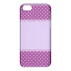Purple Modern Apple Iphone 5c Hardshell Case by Nexatart