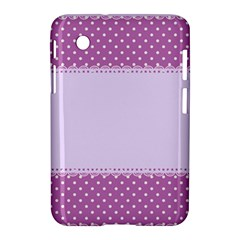 Purple Modern Samsung Galaxy Tab 2 (7 ) P3100 Hardshell Case  by Nexatart