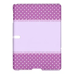 Purple Modern Samsung Galaxy Tab S (10 5 ) Hardshell Case  by Nexatart