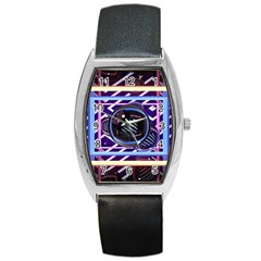 Abstract Sphere Room 3d Design Barrel Style Metal Watch by Nexatart