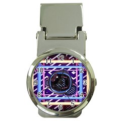 Abstract Sphere Room 3d Design Money Clip Watches by Nexatart
