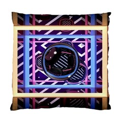 Abstract Sphere Room 3d Design Standard Cushion Case (one Side) by Nexatart