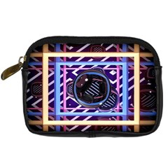 Abstract Sphere Room 3d Design Digital Camera Cases by Nexatart