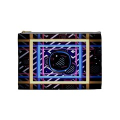 Abstract Sphere Room 3d Design Cosmetic Bag (medium)