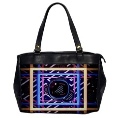 Abstract Sphere Room 3d Design Office Handbags by Nexatart