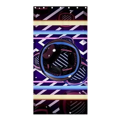 Abstract Sphere Room 3d Design Shower Curtain 36  X 72  (stall)