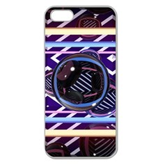 Abstract Sphere Room 3d Design Apple Seamless Iphone 5 Case (clear)