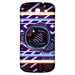 Abstract Sphere Room 3d Design Samsung Galaxy S3 S Iii Classic Hardshell Back Case by Nexatart