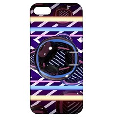 Abstract Sphere Room 3d Design Apple Iphone 5 Hardshell Case With Stand by Nexatart
