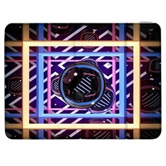 Abstract Sphere Room 3d Design Samsung Galaxy Tab 7  P1000 Flip Case by Nexatart