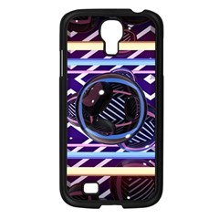 Abstract Sphere Room 3d Design Samsung Galaxy S4 I9500/ I9505 Case (black) by Nexatart