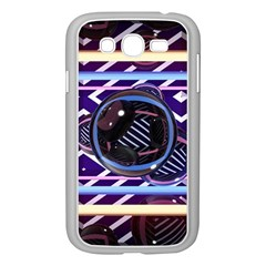 Abstract Sphere Room 3d Design Samsung Galaxy Grand Duos I9082 Case (white)