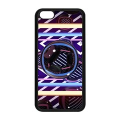 Abstract Sphere Room 3d Design Apple Iphone 5c Seamless Case (black) by Nexatart